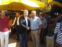 HALIL ELDEMIR - AK Parti Bilecik Milletvekili Eldemir, Osmaneli'nde Pazar Esnafını Ziyaret Etti