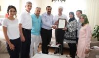 ABDULLAH ÇALIŞKAN - Başbakan Yıldırım'dan 15 Temmuz Şehit Yakınlarına Şükran Belgesi