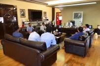 DENİZ FENERİ - Başkan Çetin, Habeşistanlı Misafirlerini Ağırladı