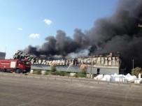 FUAT GÜREL - Milas'ta Yangın Fabrikayı Kül Etti