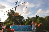 AMAZON - Sinop'ta Mutluluk Heykelleri Yapılıyor