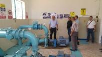 MALZEME DEPOSU - TESKİ Genel Müdürü Başa Muratlı'da İncelemelerde Bulundu