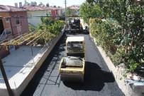 SEYRANI - 90 Evler Mevkiinde Asfaltlama Çalışmaları Devam Ediyor