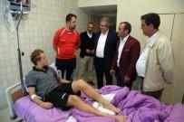 TUNCAY SONEL - Alex Amado Hastaneye Kaldırıldı