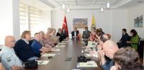 NÜRNBERG - Alman Gazetecilerden Büyükşehir'e Ziyaret