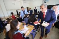 AKSAKAL - Başkan Akcan Okul Ziyaretlerine Devam Ediyor