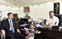 ÇİN - Başkan Yücel, Başkonsolos Liu'ya Alanya'yı Tanıttı