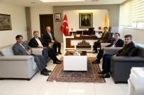 REKTÖR - Çakır'dan Rektör Kızılay'a Ziyaret