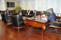 SANAYİ SİTESİ - Diplomatlardan İşbirliği Ziyareti