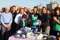 HALİL İBRAHİM ŞENOL - Gaziemir Amatörüne Can Suyu Gibi Yardım