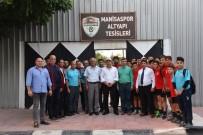 SPOR KOMPLEKSİ - Manisaspor'dan Başkan Çerçi'ye Teşekkür