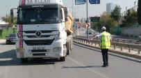CELEP - Polis Beton Mikseri Ve Hafriyat Kamyonlarına Yönelik Uygulamalarını Arttırdı