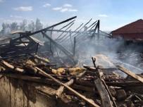 SAMANLıK - Sungurlu'da Yangın