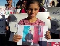 TERÖR ÖRGÜTÜ - Suriye'de PYD karşıtı gösteri