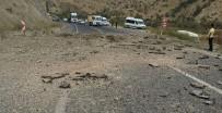 PKK - Teröristlerin karayoluna yerleştidiği patlayıcı infilak etti