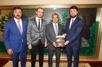 HATIRA FOTOĞRAFI - TÜGVA'dan Başkan Köşker'e Ziyaret
