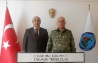 MEHMETÇIK - Tümgeneral Özoğlu, TSK Mehmetçik Vakfı Erzurum Temsilciliği'ni Ziyaret Etti
