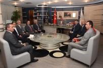 DEPREM - Ulusal Afet Yönetim Heyetinden Başkan Keleş'e Ziyaret