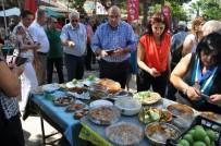 EDREMIT BELEDIYESI - Edremit'te Zeytinyağlı Yemek Yarışması Yapıldı