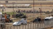 ABDULLAH ÖCALAN - Kobani'de Duvar Taşkınlığı Sürüyor