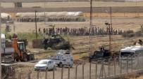 ABDULLAH ÖCALAN - Kobanililerin Sınırdaki Duvar Taşkınlığı Devam Ediyor