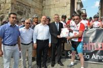 MUSTAFA ALTıNTAŞ - 'Kuruluştan Kurtuluşa' Bisiklet Turunun Startı Verildi
