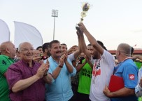 HÜSEYIN ÇALıŞKAN - 15 Temmuz Demokrasi Şehitleri Futbol Turnuvası'nın Şampiyonu Toroslar Belediyespor