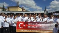 İÇLİ KÖFTE - Adanalı Aşçılar, Mengen'de Çifte Birincilik Kazandı