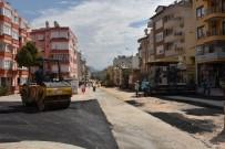 KERMES - Alanya Belediyesi, Kaldırım Ve Cadde Düzenleme Çalışmalarına Devam Ediyor