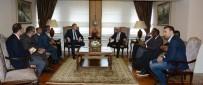 ARAP TURİZM ÖRGÜTÜ - Arap Turizm Örgütü Başkanı Al-Fehaid'den Vali Yavuz'a Ziyaret