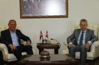 BÜROKRASI - Başkan Keleş Ve Kurmaylarından Vali'ye Hayırlı Olsun Ziyareti