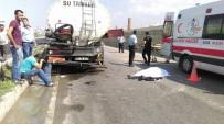 Belediye Personeli Kazada Hayatını Kaybetti