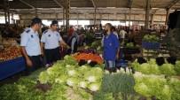PAZAR ESNAFI - Döşemealtı Belediye Zabıtası'ndan Pazar Denetimi