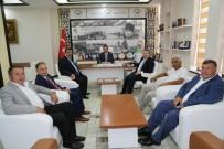 SİNEMA SALONU - Feramuz Üstün'den Başkan Tok'a Ziyaret