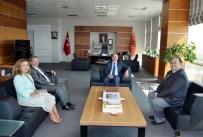 HACI BAYRAM - Halk Sağlığı İl Müdürlüğü'nden NKÜ'ye Ziyaret