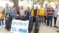 GÜNEYKENT - İyilik-Der'den  Tekerlekli Sandalye Yardımı