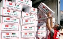 KUDÜS - Kızılay 30 ülkede kurban eti dağıtacak