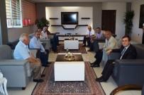 KARACİĞER NAKLİ - Malatya Gazeteciler Cemiyeti Rektör Kızılay'ı Ziyaret Etti