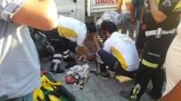 Milas'ta Kaza Açıklaması 1 Ağır Yaralı