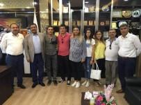 MEHMET ÇIÇEK - Öğretmenlerden Özyavuz'a Teşekkür Ziyareti