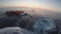 Ölüm Yolculuğunu Sahil Güvenlik Önledi