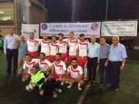 ÇİMENTO FABRİKASI - Bozüyük'te Çimse İş Sendikası Futbol Turnuvası Başladı
