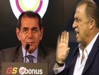 GALATASARAY BAŞKANı - Dursun Özbek, Fatih Terim iddialarına cevap verdi