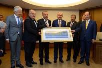 ÇALıŞMA VE SOSYAL GÜVENLIK BAKANLıĞı - Edirne Heyetinden Bakan Müezzinoğlu'na Ziyaret