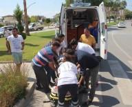 SAHİL YOLU - Gazipaşa'da Trafik Kazası Açıklaması 1 Yaralı