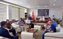 FEDERASYON BAŞKANI - Masa Tenisi Federasyonu Başkanı Çimen'den Salihli Ziyareti