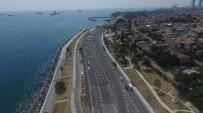 AVRASYA - Avrasya Tüneli Projesinde Son Durum Havadan Görüntülendi