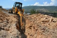 Turgutlu Kabaçınar'a Yeni Kanalizasyon Hattı