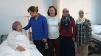AİLE SAĞLIĞI MERKEZİ - AK Parti Kadın Kolları'ndan Hasta Ziyareti