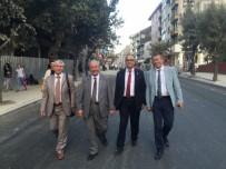 KADİR ALBAYRAK - Başkan Albayrak Hükümet Caddesindeki Çalışmaları İnceledi